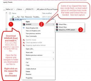 How to extract files from RAR ZIP - part1