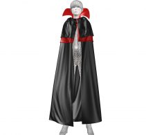 Marvelous Designer Layered Vampire Cape Garment