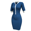 Marvelous Designer Clothes Template Garment File of Executive Dress