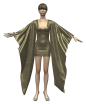 3D Kimono Dress Marvelous Designer Clothes Garments File