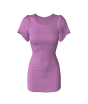 Marvelous Designer Petal Sleeve Dress 3D Garment Patterns