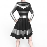 Bad Girl Dress - Marvelous Designer Clothes Garment File