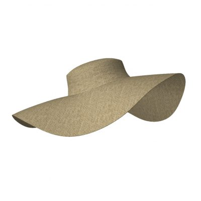 GarmentFile_Hats_sunhat6_Marvelous Designer 3D Garments