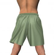 Mens' Sport Shorts - Back View