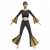 Marvelous Designer Gored Shirt and Pants Set Garment File