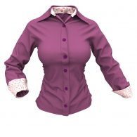 Womens' Formal Shirt Marvelous Designer Dynamic Clothing Garment File