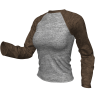 Marvelous Designer 3D Clothes - Raglan Shirt Sweatshirt Garment File