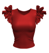 Marvelous Designer 3D Butterfly Shirt Garment File
