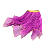 Handkerchief Skirt with Wind