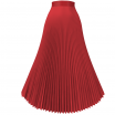 Accordion Pleated Skirt V1 - Marvelous Designer Garment File