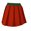 Example Textured Box Pleats Skirt V1 Marvelous Designer Clothing 3D Garment File