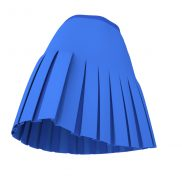 Box Pleated Skirt with a Yoke Marvelous Designer Garment File
