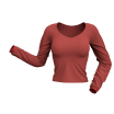 Twisted Sleeve Marvelous Designer Shirt 3D Clothing Garment File