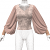 Big Fancy Bishop Sleeve Shirt Marvelous Designer 3D Clothing File