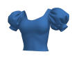 Puffed Sleeves (V1) Marvelous Designer Garment File 3D Garments