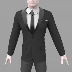 MArvelous Designer Dynamic Peaked Collar Tuxedo in our Marvelous Designer Workshop
