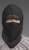 Marvelous Designer ski mask facial cover
