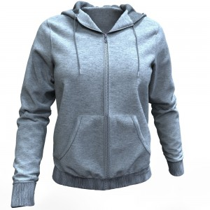 Womens Hoodie Marvelous Designer Dynamic Clothing with CG Elves Seamless Fabric Pattern Textures
