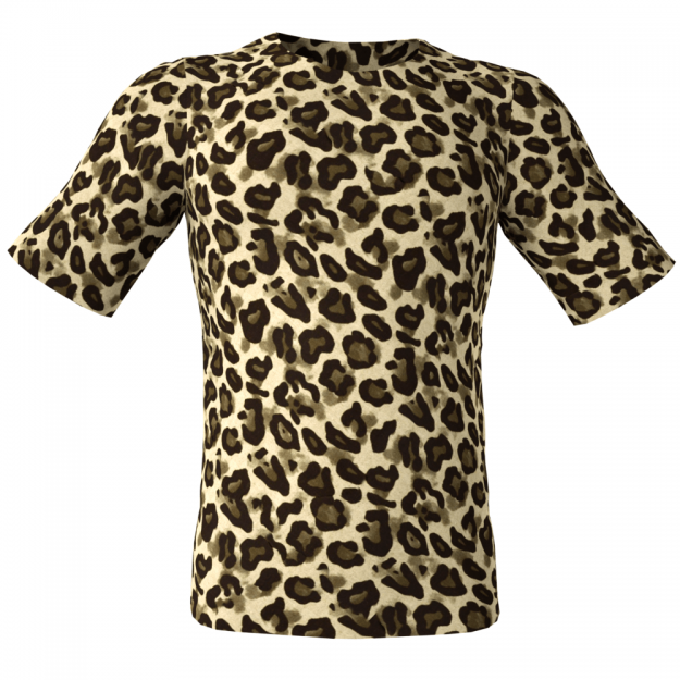 Animal Leopard 3D High Resolution Seamless Repeatable Fabric Textures