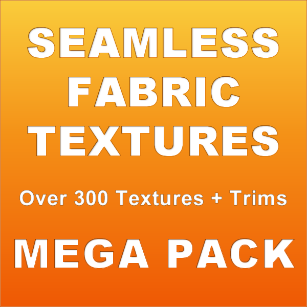 Seamless Fabric Textures with Fancy Lace and Trims MEGA PACK 30 for CG Artists