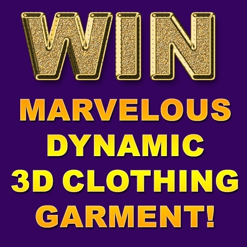 CGElves Marvelous Designer Dynamic Clothing Garment Giveaway Contest
