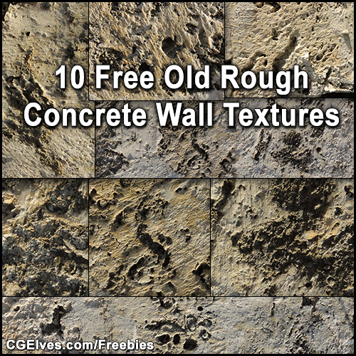 Download 10 Free Old Concrete Stone Wall Grunge Textures