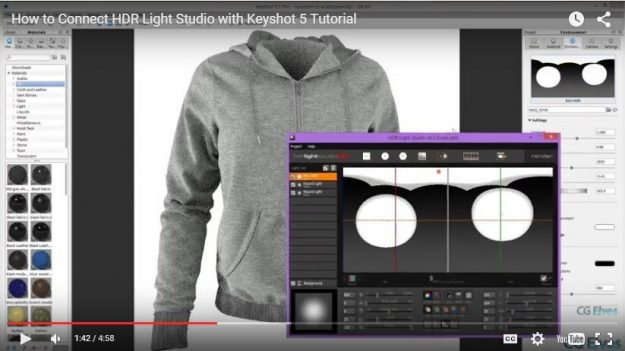 How to Use HDR Light Studio Plugin with Keyshot 5 Tutorial