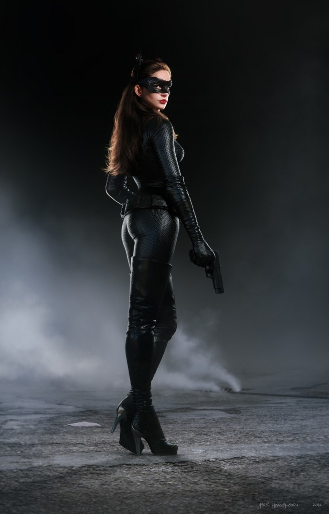 Catwoman for The Dark Night Rises by Per Haagensen -Realistic Human 3D Model