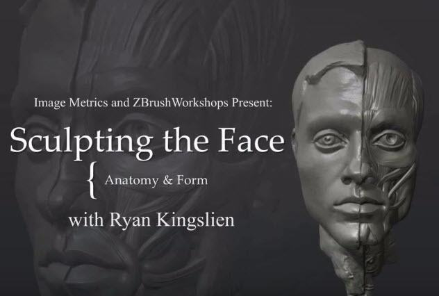 Sculpting the Face with Ryan Kingslien