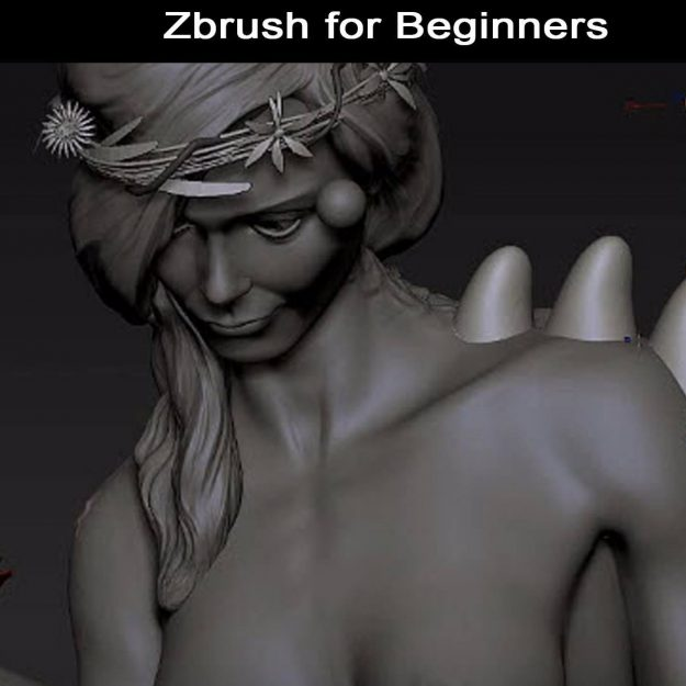 Zbrush for Beginners Tutorial – Essentials to get Started with Sculpting