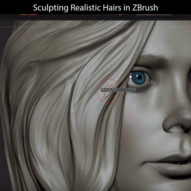Sculpting Hair in ZBrush