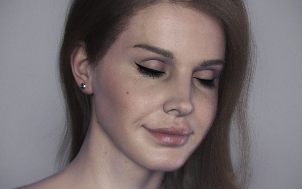 Lana del Rey CG Portrait Final Render with Hair by Artist Marco Di Lucca
