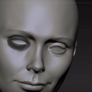 Sculpting Female Head basics