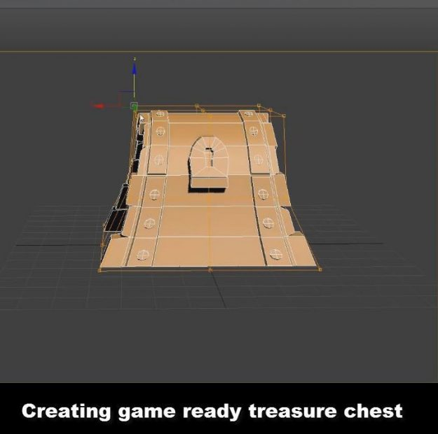 Creating Treasure Chest Game Asset in 3Ds Max