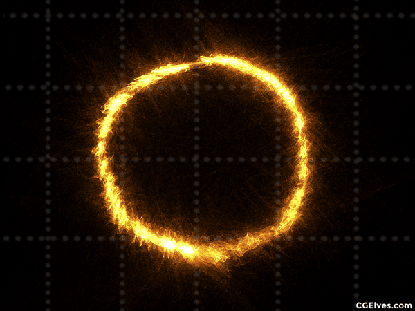 Energy Magic Rays Rings Swirls 136
