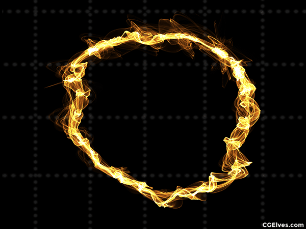 Energy Magic Rays Rings Swirls 140