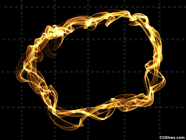 Energy Magic Rays Rings Swirls 142