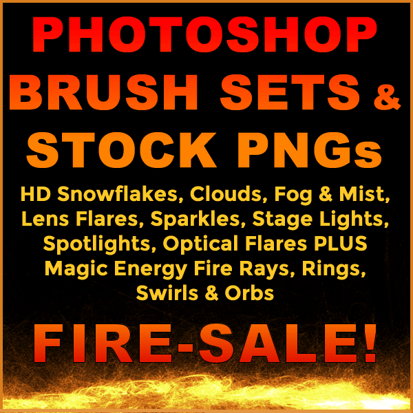 Photoshop Brushes and Royalty Free Stock PNGs Bundle 1