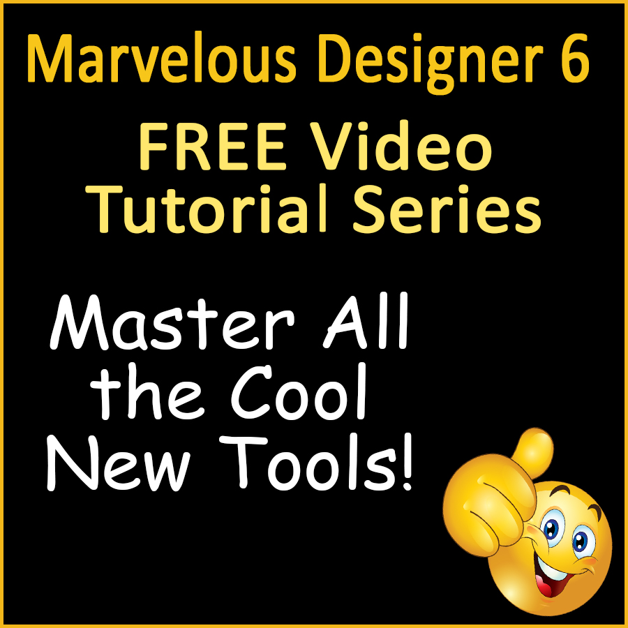 Free Marvelous Designer 6 Video Tutorials on New Features and Updates
