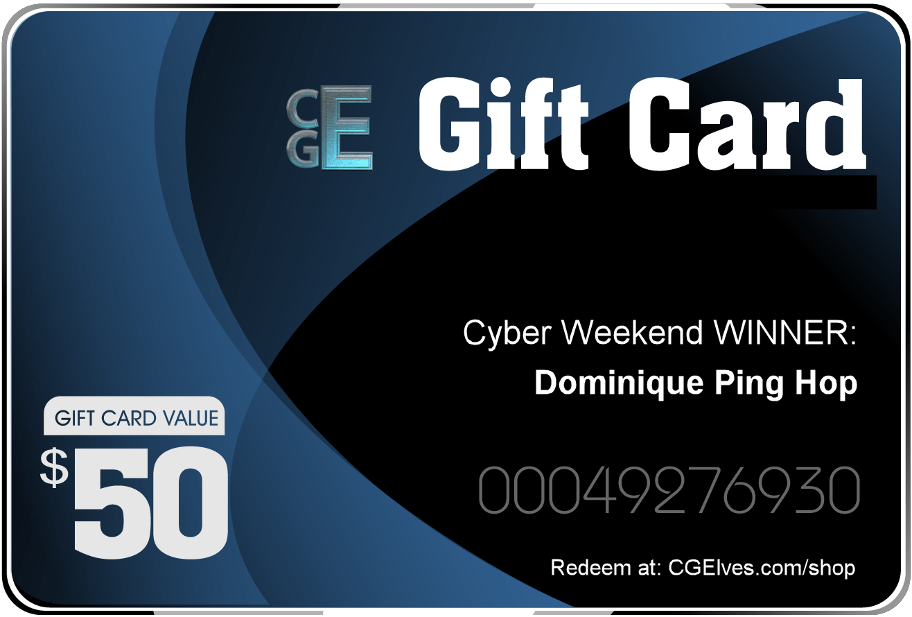 CG Elves Gift Card 50USD PRIZE