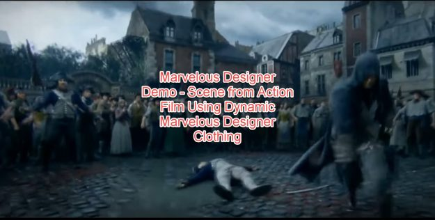 Marvelous Designer Demo - Film Using Dynamic Marvelous Designer Clothing