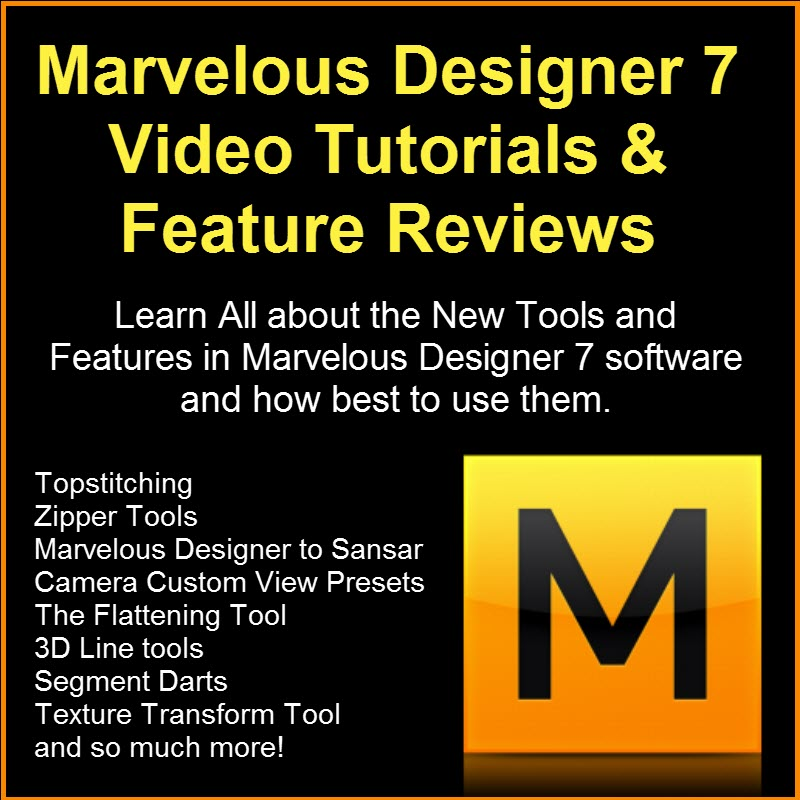 Marvelous Designer 7 Review and Video Tutorials Camille Kleinman