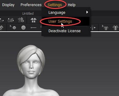 Marvelous Designer User Settings