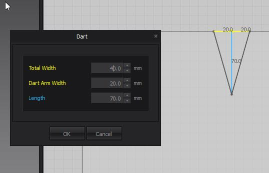 Marvelous Designer Segment Darts Tutorial - Dart Settings